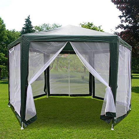 hexagon gazebo quictent 174 6 x6 x6 outdoor hexagon canopy tent