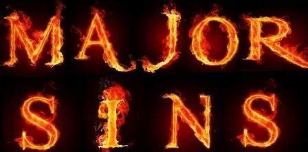 fornication  adultery major sins  islam