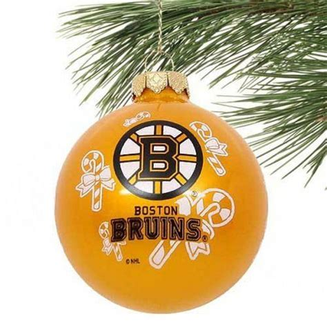 boston bruins christmas ornament hockey pinterest