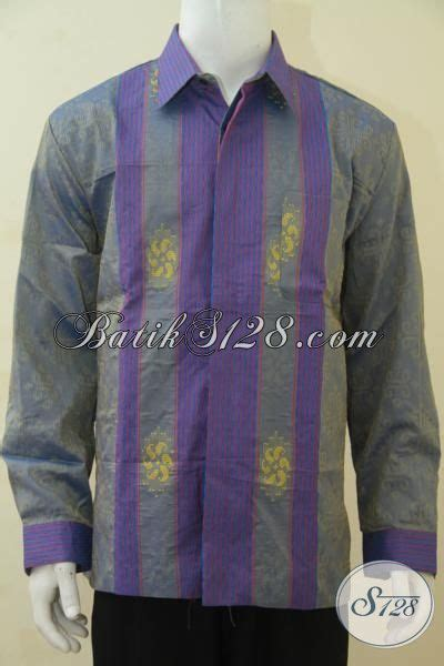 desain baju batik tenun jual eceran produk baju tenun lengan panjang full furing