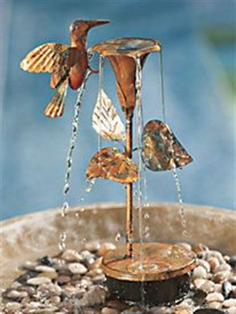 1000 images about hummingbird fountains on pinterest