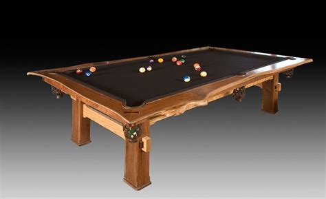 Custom Made Pool Table By Cabinetmaker Birdie Miller Unique Pool Tables