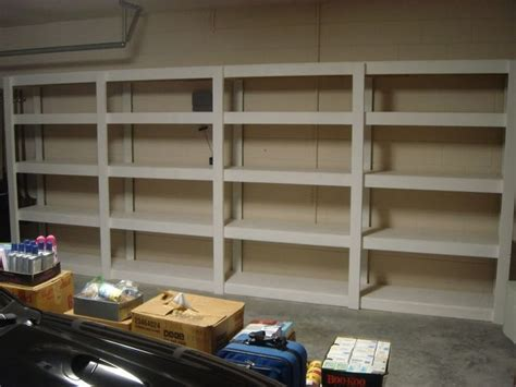 garage shelving designs 500 best images about organize the garage on