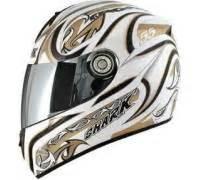 Motorradhelm Test Leise by Shark Helmets Rsi Laconi White Gold White Test Integralhelm