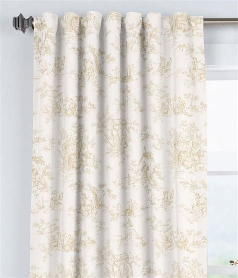25 best toile curtains trending ideas on tab top curtains toile and burlap curtains