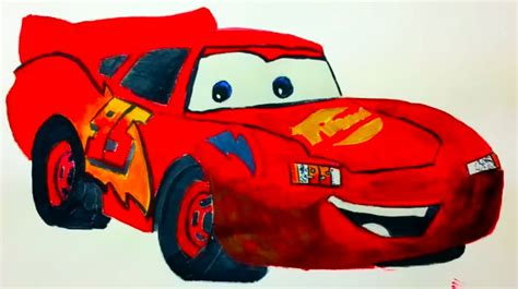 painting cars 2 disney pixar s lightning mcqueen from cars speed