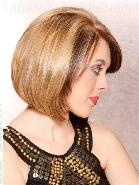 pictures beveled bob chin length blonde beveled bob short hairstyle 2013
