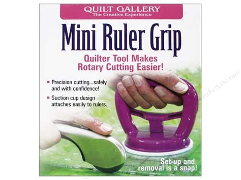 Quilting Ruler Grips by Quilt Gallery Ruler Grip Mini Createforless