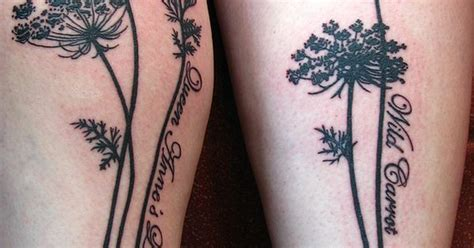 tattoo parlors queen anne queen anne s lace flower tattoos queens and tattoo