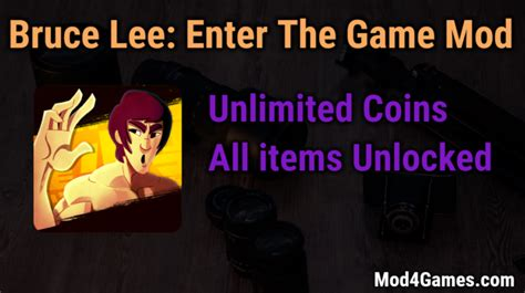 download game bima x mod unlimited bruce lee enter the game archives mod4games com