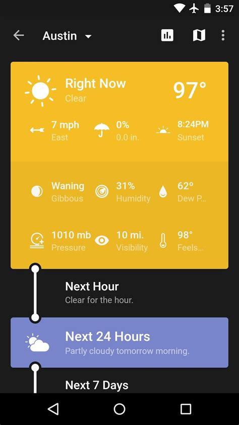 best weather app for android the 5 best weather apps for android 171 android gadget hacks