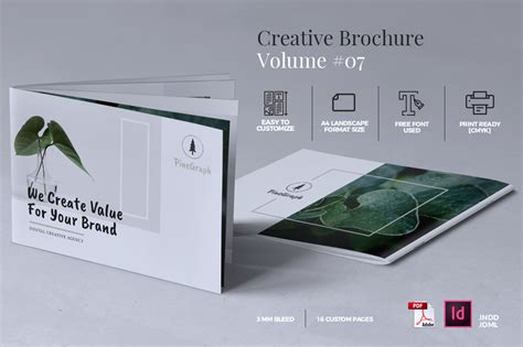 creative brochure templates free creative brochure template graphic by rahardidesign
