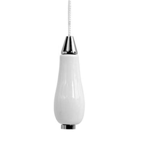 Bathroom Light Pull Cords Lloyd Pascal Ceramic Chrome Light Pull 065 62 058 At Plumbing Uk