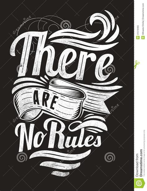no more rules graphic 1780671032 there are no rules royalty free stock photo image 31519465
