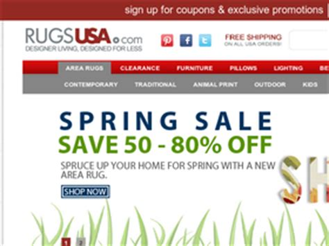 Rugs Usa Promo by Rugs Usa Coupons Coupon Codes And Deals Retailsteal