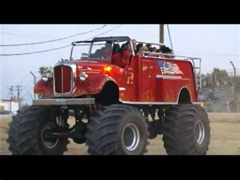 fire trucks monster truck monster fire truck quot the extinguisher quot youtube