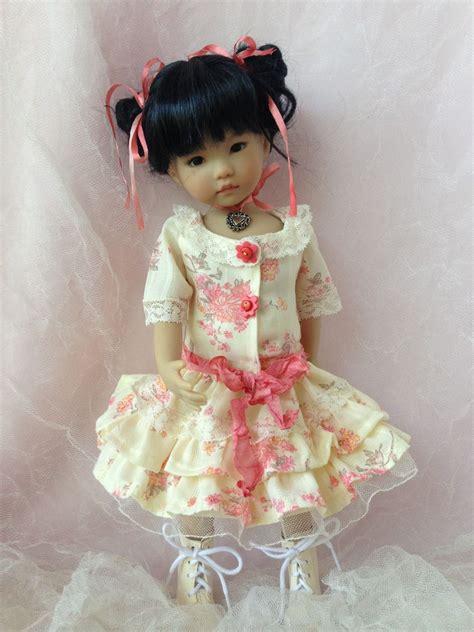 Zoe Pink Square Dress Anak zoe dress pattern by mhd dolls dolls doll clothes