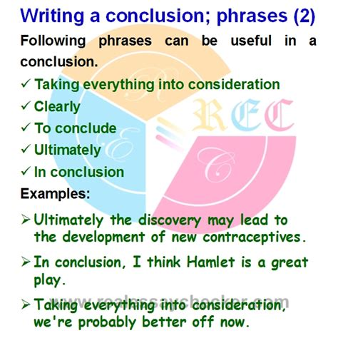 Conclusion Words For Essays by Help Writing A Conclusion To An Essay