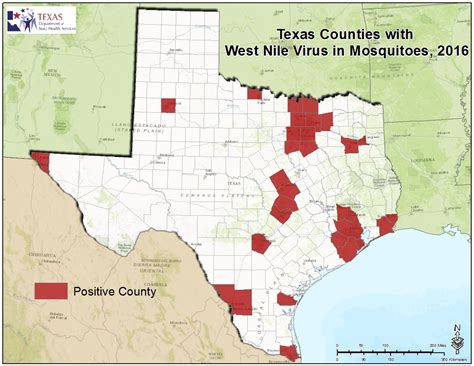 maps of west texas 2016 texas west nile virus maps