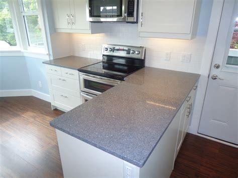 light grey quartz countertops blue grey quartz