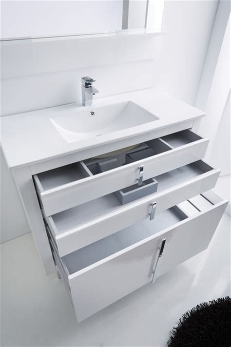 bathroom vanity 40 roma bathroom vanity 40 quot white high gloss lacquered