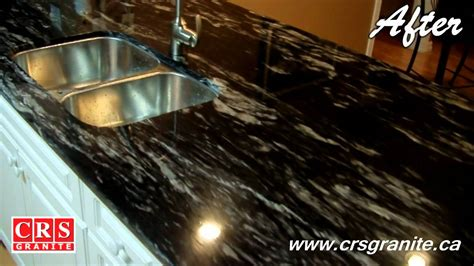 White Kitchen Cabinets With White Backsplash Crs Granite Before Amp After Titanium Granite 3 4 2cm