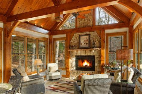 Timber Frame Sunroom timber frame hillsborough nc modern sunroom raleigh by broyhill wiles log and timber