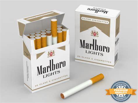 of marlboro lights 3ds marlboro cigarette pack