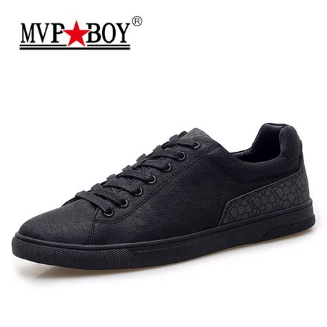mens black casual sneakers mvp boy brand casual shoes 2018 new fashion