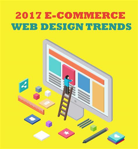 2017 web design trends e commerce web design trends for 2017 infographic