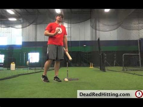 baseball swing speed baseball hitting drill for a compact quick swing dead