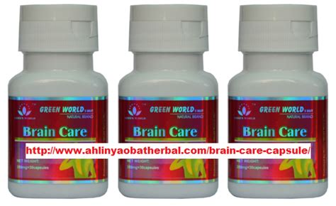 Green World Brain Care Capsule suplemen otak green world archives ahlinyaobatherbal net