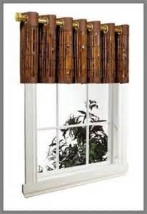 Bamboo Curtains For Windows Bamboo Valances Bamboo Valance Photo