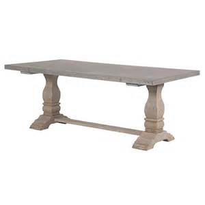 Zinc Topped Dining Table Zinc Top Dist Dining Table