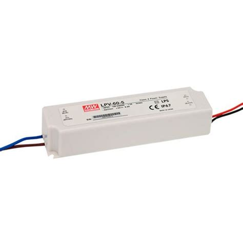 Power Supply Well Led Driver Plp 60 buy 60w lpv 60 waterproof led driver at low prices