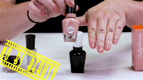 New Sally new sally hansen salon chrome nail kit review