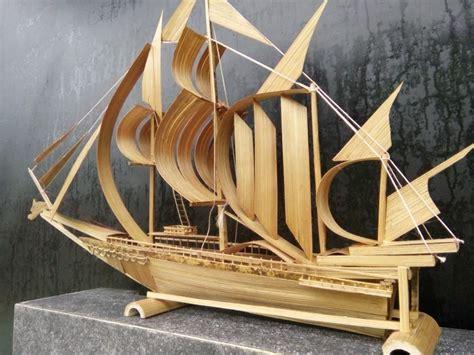 membuat kerajinan perahu aneka cara membuat kerajinan dari bambu dengan mudah