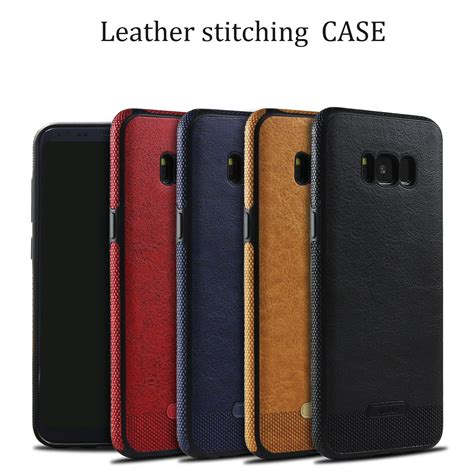 Samsung Galaxy S8 Kinkoo Leather Soft Casing Cover shockproof pu leather soft tpu silicon ultra thin back cover for samsung galaxy s8 plus