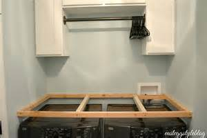 Laundry Room Folding Table - concrete countertops