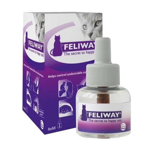 comfort zone with feliway comfort zone feliway diffuser refill for cats 48 fl oz