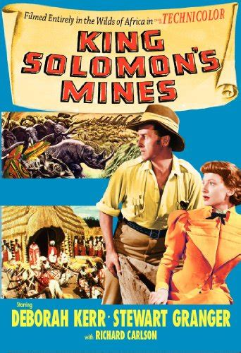 amazoncom king solomons mines deborah kerr stewart