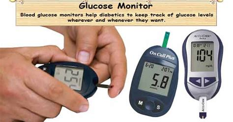 blood glucose meter glucose monitor diabetes meter