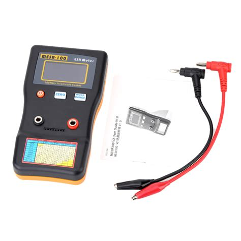 resistance capacitor professional resistance capacitor circuit tester high precision measuring capacitance mesr 100