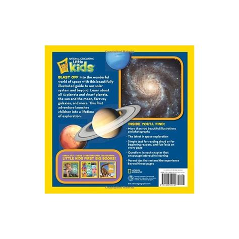 libro big book of little national geographic little kids first big book of space english wooks