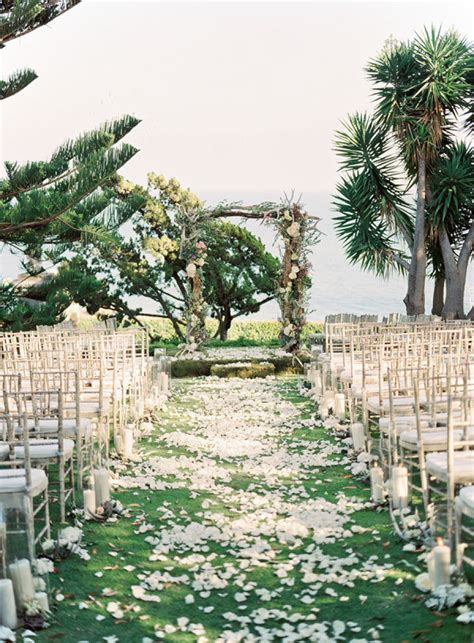 Garden Ceremony Ideas 12 Ways To Make You Wedding Aisle Look Fabulous
