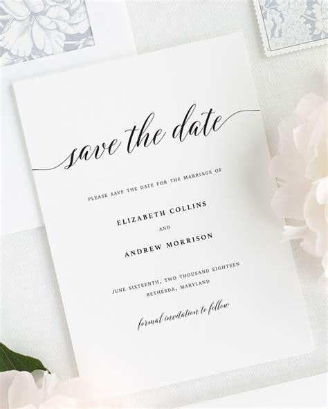Wedding Save The Date by Save The Date Cards Save The Date Cards
