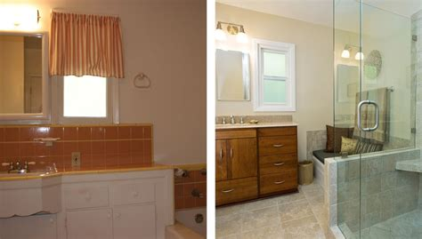 before and after bathroom remodels bathroom design gallery before after remodeling photos