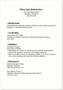good resume examples for teenagers SAMPLE RESUME mary lynn