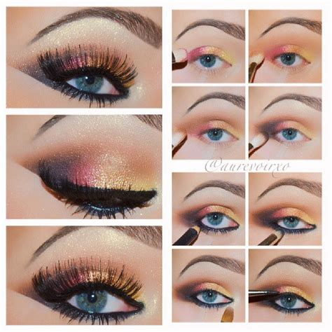eyeliner tutorial for blue eyes 20 easy blue eyes makeup tutorials for beginners styles