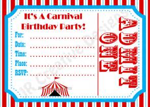 Carnival Themed Invitations Templates Free by Carnival Invite Circus Invite Circus By Jrcreativedesigns